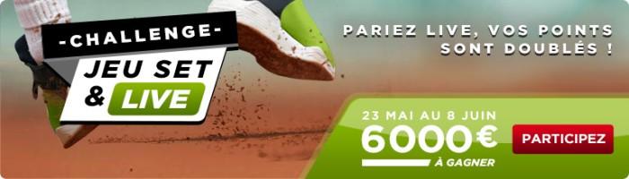 betclic challenge tennis