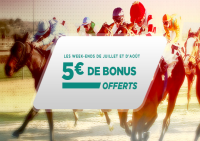 beltic turf week-end giga bonus 5 euros