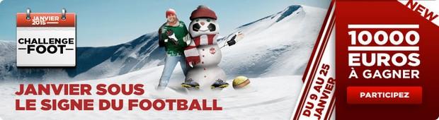 challenge football janvier sur betclic.fr
