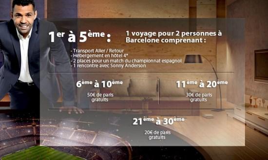 Voyage à Barcelone + paris sportifs
