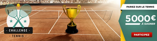 Challenge tennis à relever sur Betclic Sport