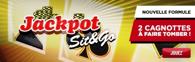 Jackpot Sit & Go sur Betclic