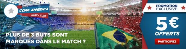 Copa America avec Betclic