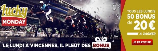 Bonus Betclic turf de 1000 euros par semaine