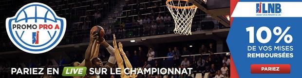 Offre Basket Français sur Betclic