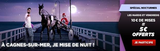 Les nocturnes de Cagnes-sur-Mer avec Betclic Turf