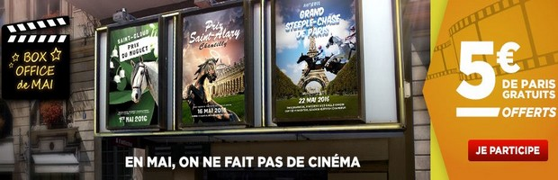 L'offre Box Office de mai de Betclic Turf