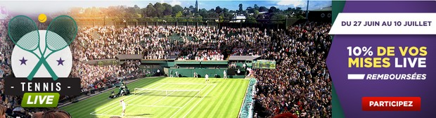 Tournoi de tennis de Wimbledon sur Betclic.fr