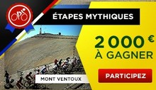 Pariez avec Betclic sur les étapes mythiques du Tour de France