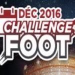Betclic vous propose son Challenge Foot en décembre