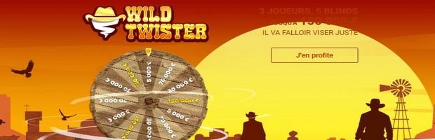 Les tournois Wild Twister sur Betclic Poker