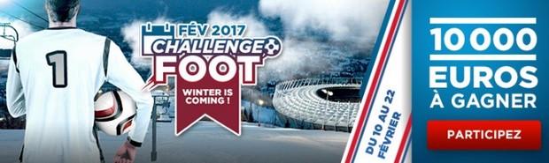 10.000€ à partager avec le Challenge foot de février sur Betclic