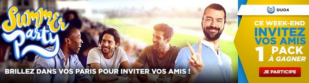 3.000€ mis en jeu par Betclic pour la Summer Party Turf