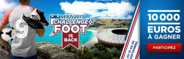 10.000€ mis en jeu sur le football par Betclic du 15 au 24 septembre 2017