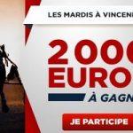 2.000€ mis en jeu chaque mardi sur Betclic Turf
