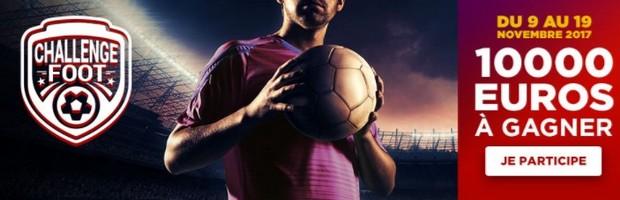 10.000€ à partager sur le foot sur Betclic en novembre