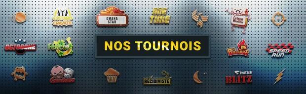 Chaque jour jouez le One Time sur Betclic Poker