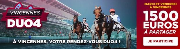 12.000€ mis en jeu sur les réunions de Vincennes en décembre 2017 par Betclic Turf