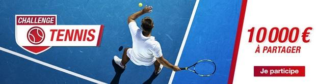 Entre 25€ et 2.500€ à gagner sur Betclic pour l'Open d'Australie de tennis du 14 au 28/01