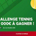 Empochez jusqu'à 2.500€ en misant sur le tennis avec Betclic