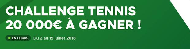 pari Wimbledon sur Betclic