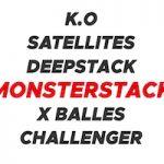 Tournois poker Monsterstack Betclic