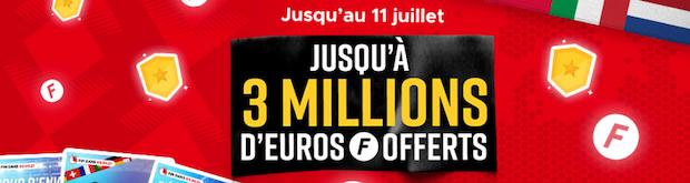 Freebets Euro 2020 Betclic